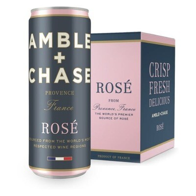 Wine / Rose / Amble & Chase Rose, 4 cans - 1L Box