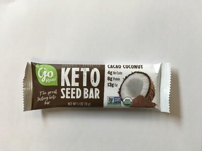 Go Raw OG2 Cacao Coconut Keto Bar