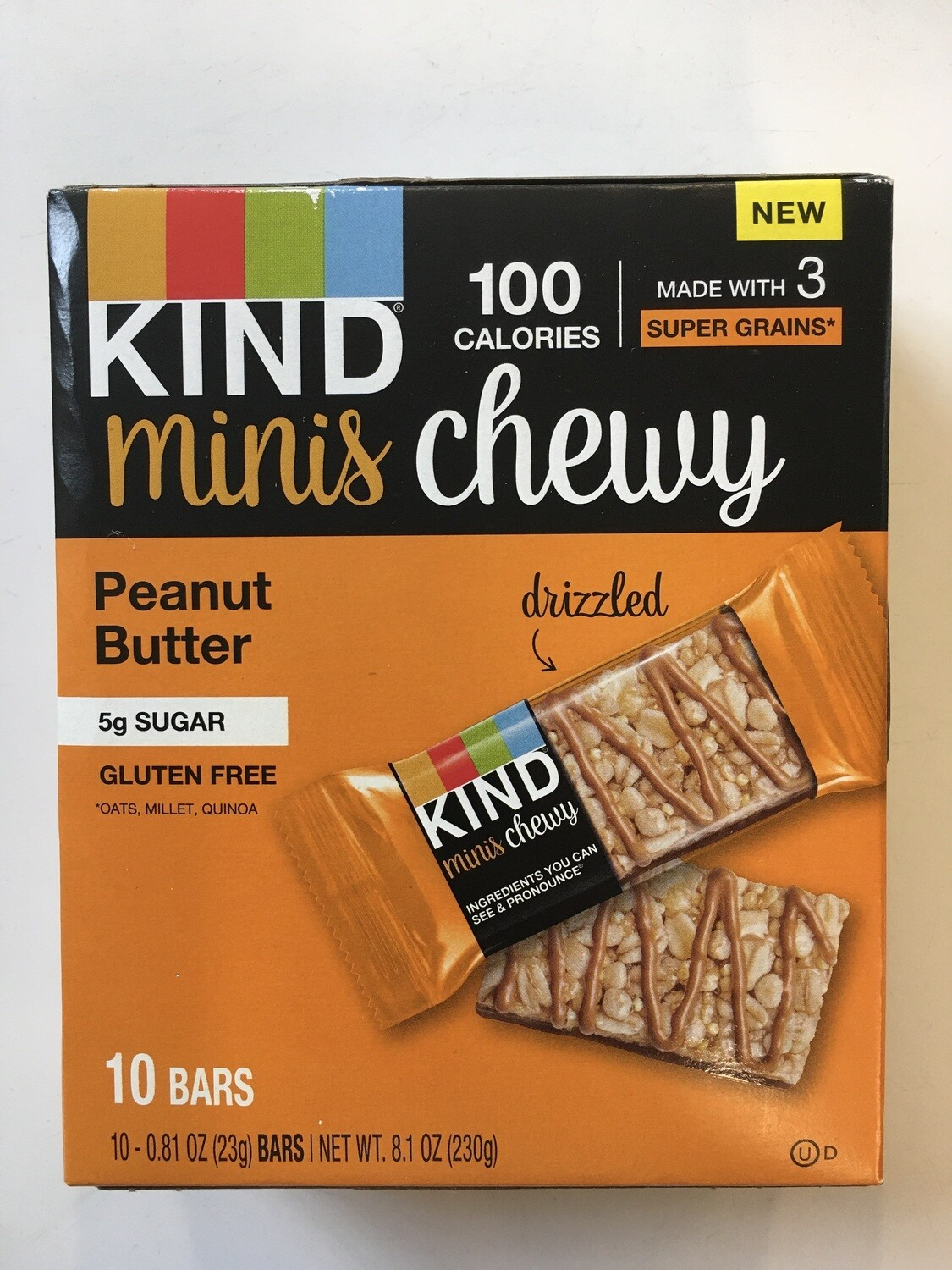 Snack / Bar / Kind Minis Peanut Butter Chewy 10 pack