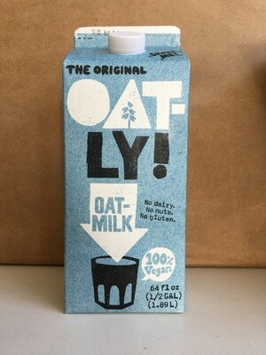 Dairy / Milk Substitute / Oatly Oat Milk Original, half gallon