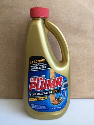 Household / Cleanser / Liquid Plumber Pro Strength, 32 oz