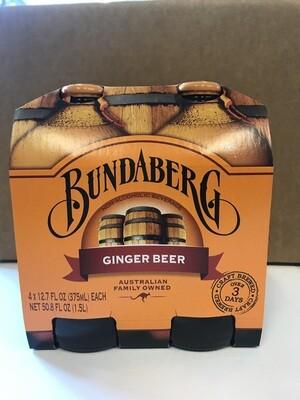 Beverage / Soda / Bundaberg Ginger Beer 4 pk