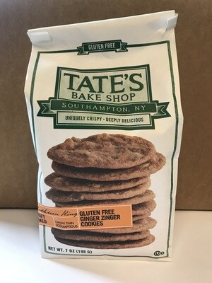 Grocery / Cookies / Tate's Gluten Free Ginger Zingers