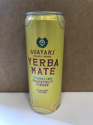 Beverage / tea / Guayaki Grapefruit Ginger Sparkler