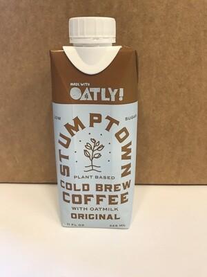 Beverage / Coffee & Tea / Stumptown Cold brew Coffee with Oatly