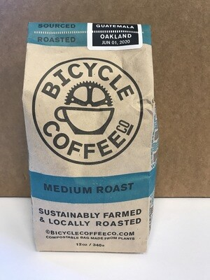 Coffee / Beans / Bicycle Coffee Medium Roast, 12 oz