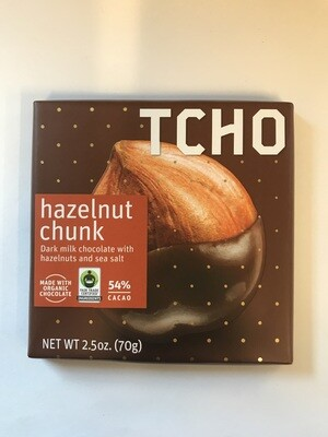Candy / Chocolate / Tcho Organic Milk Chocolate Hazelnut Chunk