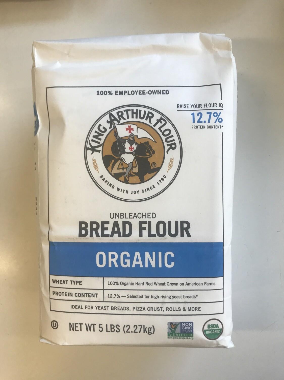 Grocery / Baking / King Arthur Bread Flour Organic 5 lb (LIMIT 1 per customer)