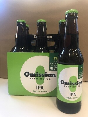 Beer / 6 Pack / Omission IPA