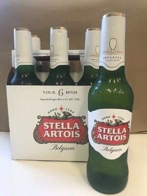Beer / 6 Pack / Stella Artois 6pk