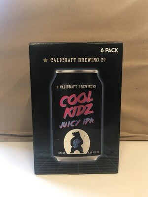 Beer / 6 Pack / Calicraft Cool Kidz Juicy IPA 12oz 6pk
