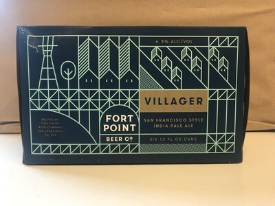 Beer / 6 Pack / Fort Point Villager 6pk