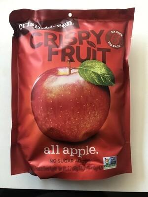 Snack / Dried Fruit / Crispy Green Apples, 6pk