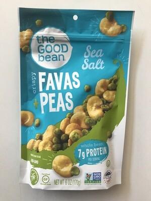 Snack / Nuts / Crispy Fava + Peas