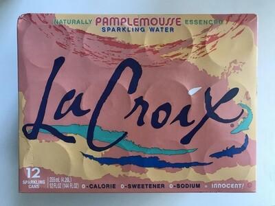 Beverage / Water / La Croix Grapefruit 12 pack