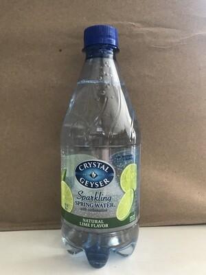 Beverage / Water / Crystal Geyser 18 oz Lime