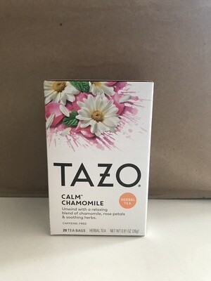 Grocery / Tea / Tazo Calm Herbal Tea