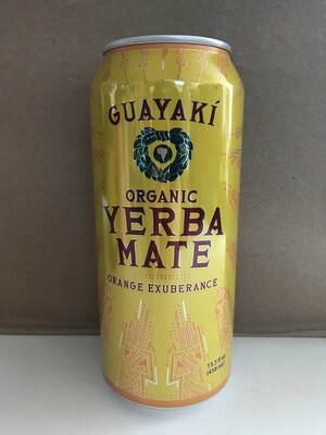 Beverage / Tea / Guayaki Orange Exuberance