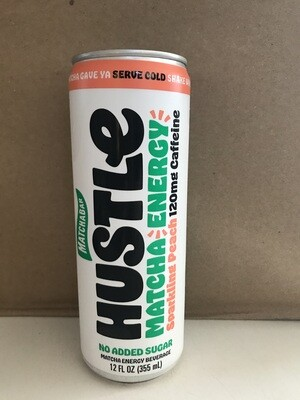 Beverage / Tea / Matchabar Hustle Peach, 12 oz.