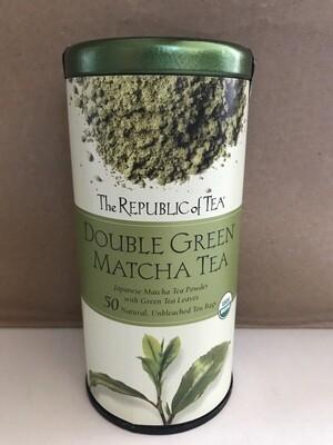 Beverage / Tea / Double Green Matcha Tea Organic USDA (50 Tea Bag)