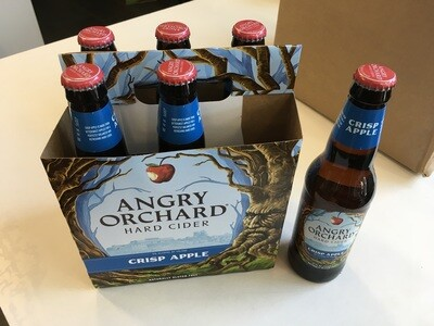 Beer / 6 Pack / Angry Orchard Crisp Apple Cider, 6pk