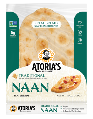 Bread / Pita / Atoria's Traditional Naan