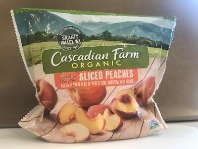 Frozen / Fruit / Cascadian Farms Organic Sliced Peaches, 10 oz..