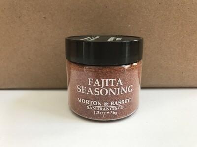 Grocery / Spice / Morton & Bassett Fajita Seasoning, 1.3 oz