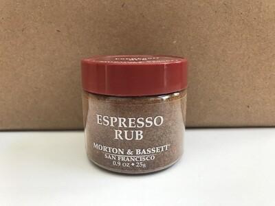 Grocery / Spice / Morton & Bassett Espresso Rub, 0.9 oz