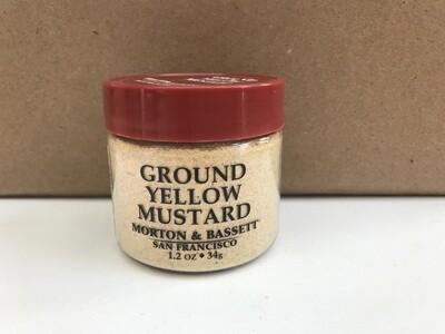 Grocery / Spice / Morton & Bassett Mustard Yellow Ground, 1.2 oz