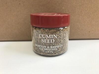 Grocery / Spice / Morton & Bassett Cumin Seed, 1 oz
