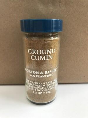 Grocery / Spice / Morton & Bassett Cumin Ground, 2.3 oz