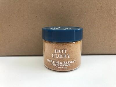 Grocery / Spice / Morton & Bassett Curry Hot, 1.2 oz