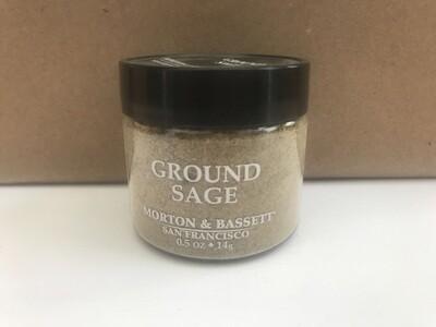 Grocery / Spice / Morton & Bassett Sage Ground, 0.5 oz