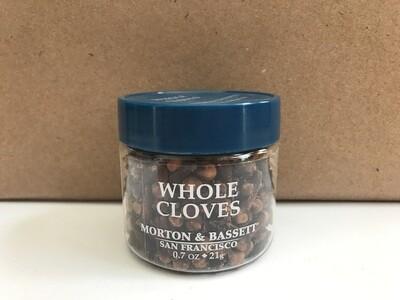 Grocery / Spice / Morton & Bassett Cloves Whole, 0.7 oz