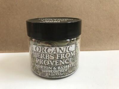 Grocery / Spice / Morton & Bassett Herbs de Provence, Organic, 0.4 oz