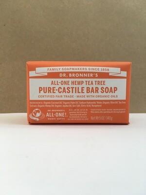 Health and Beauty / Soap / Dr. Bronner Bar Tea Tree
