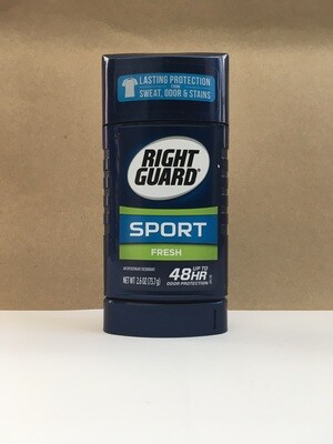Health and Beauty / Deodorant / Right Guard Sport Fresh