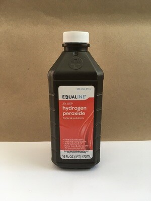 Health and Beauty / Medicine / Equaline Hydrogen Peroxide, 3% one per person