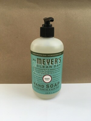 Health and Beauty / Soap / Mrs. Meyers Hand Soap Basil