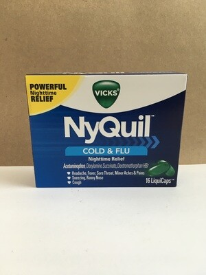 Health and Beauty / Medicine / NyQuil Liquicaps