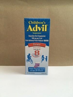 Health and Beauty / Medicine / Childrens Liquid Advil, Grape