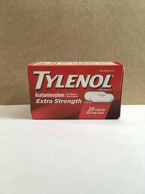 Health and Beauty / Medicine / Tylenol 24 ct