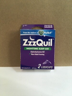 Health and Beauty / Medicine / Zzzquil Liquicaps