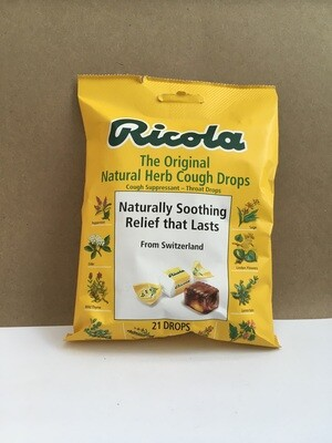 Health and Beauty / Medicine / Ricola Bag, 21 pcs