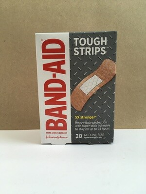 Health and Beauty / general / Band Aids Tough Strips 20 pack