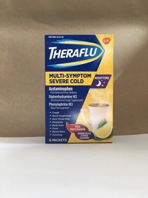 Health and Beauty / Medicine / Theraflu severe cold green tea honey lemon