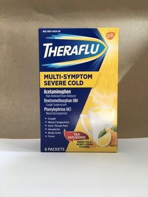 Health and Beauty / Medicine / Theraflu Nighttime Multisymptom with Lipton