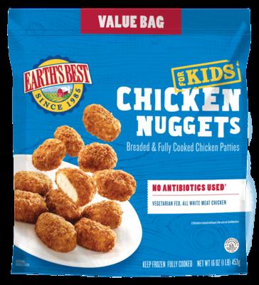 Frozen / Entree / Earth's Best Chicken Nuggets Value Bag, 16 oz