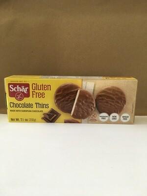 Cookies / Big Bag / Schar Gluten Free Chocolate Thins, 7.1 oz.
